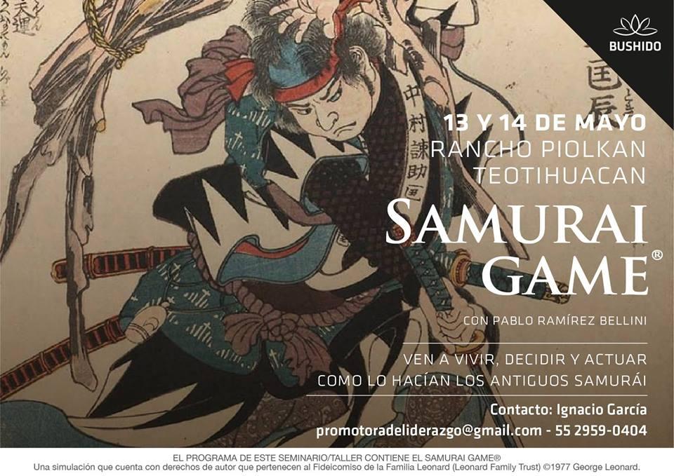 Samurai Game® en Teotihuacan- CDMX