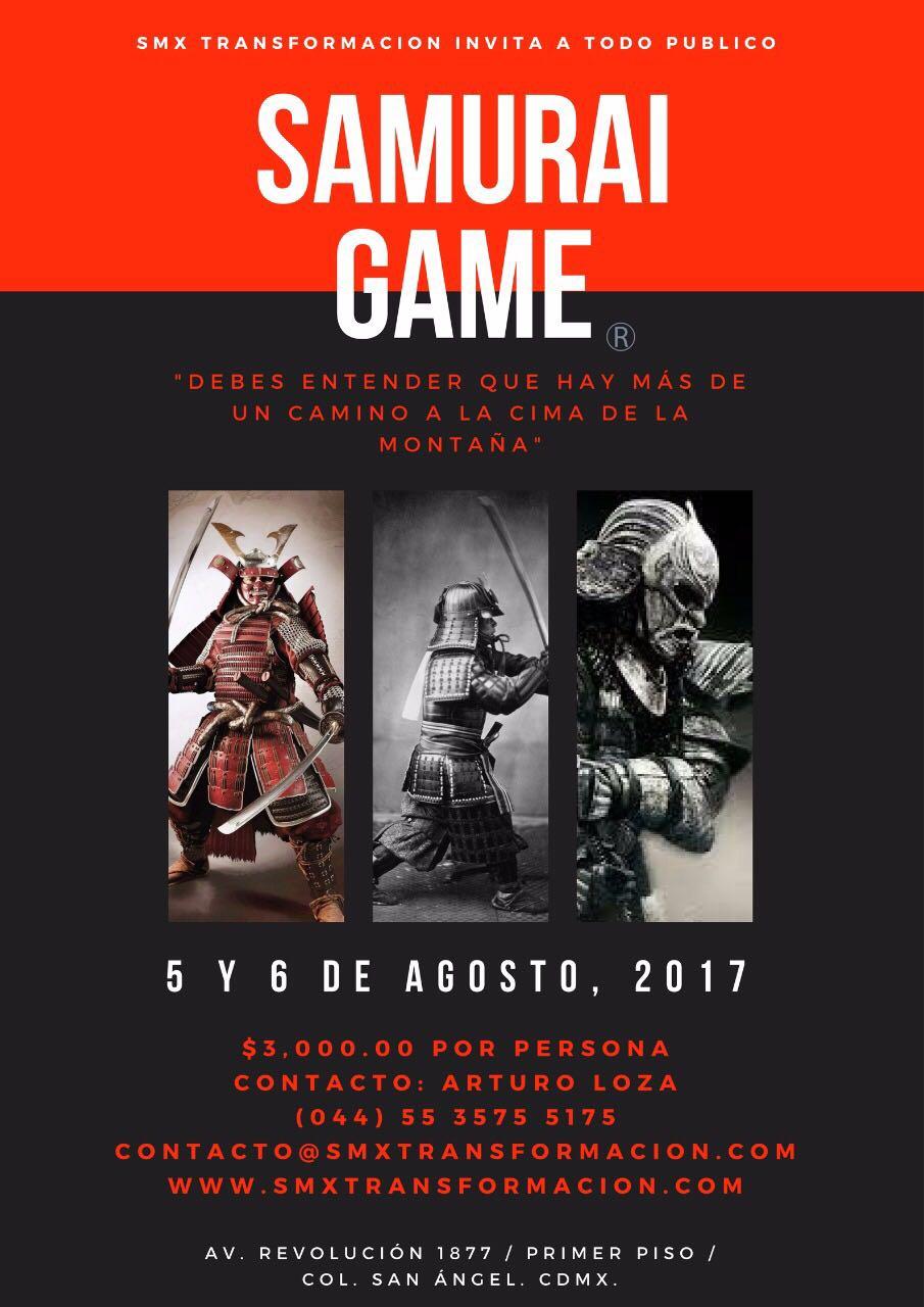 Samurai Game® con Jenaro Pliego y Arturo Loza SMX CDMX