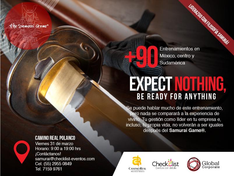 Samurai Game Global Corporate CDMX