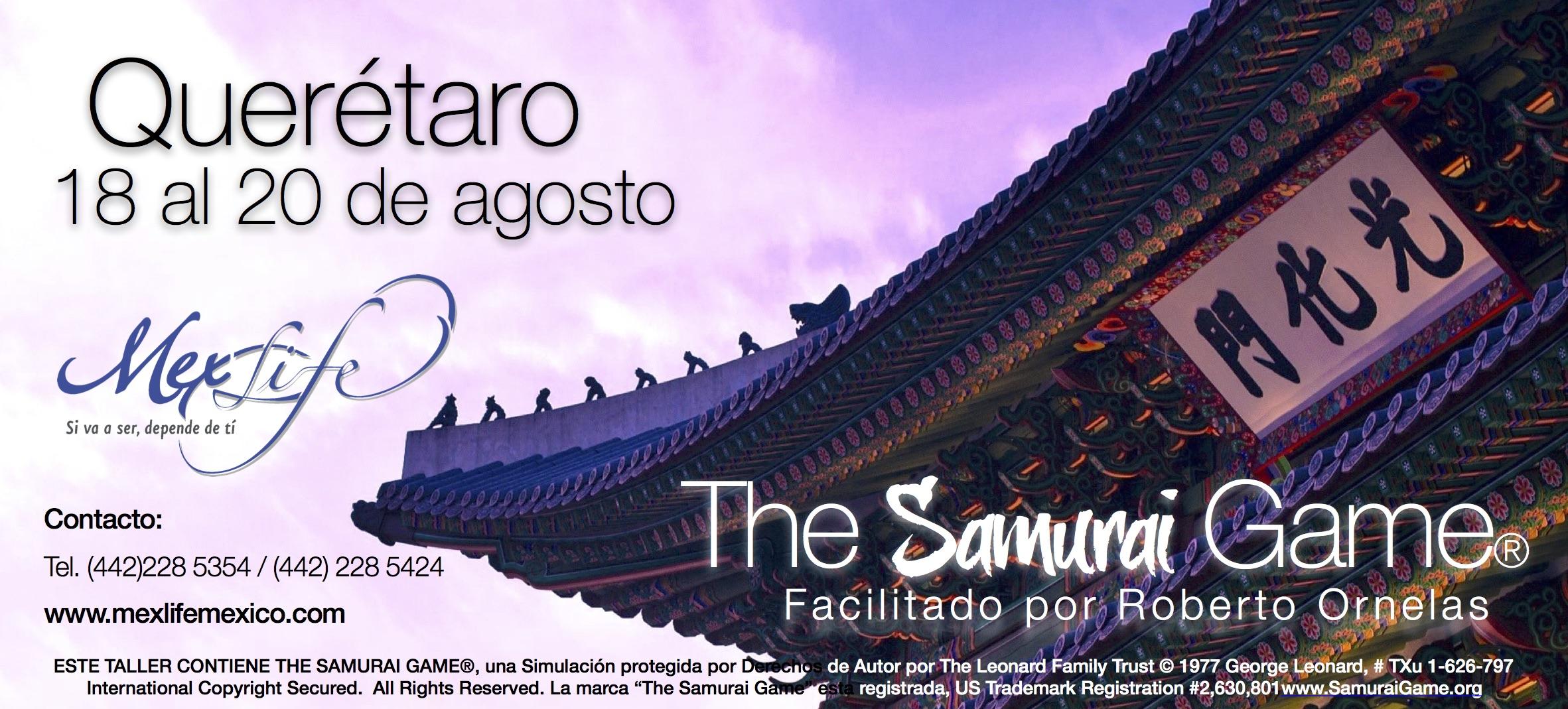 The Samurai Game® Querétaro