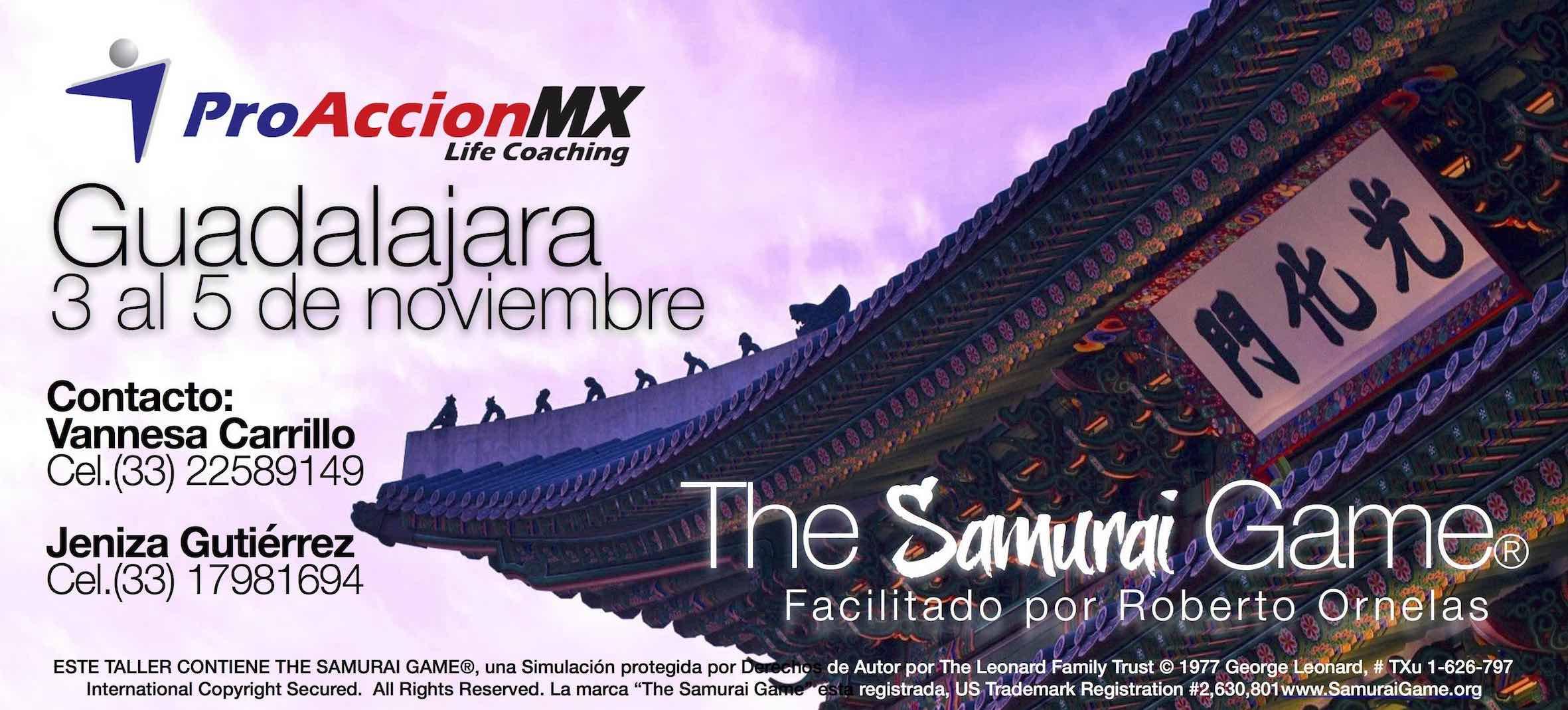 """Samurai Game (GDL) """"Proacción MX"""""""