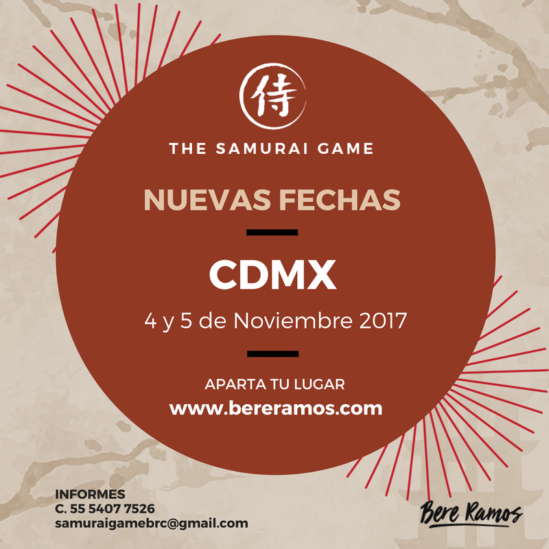 SAMURAI GAME CDMX BERE RAMOS