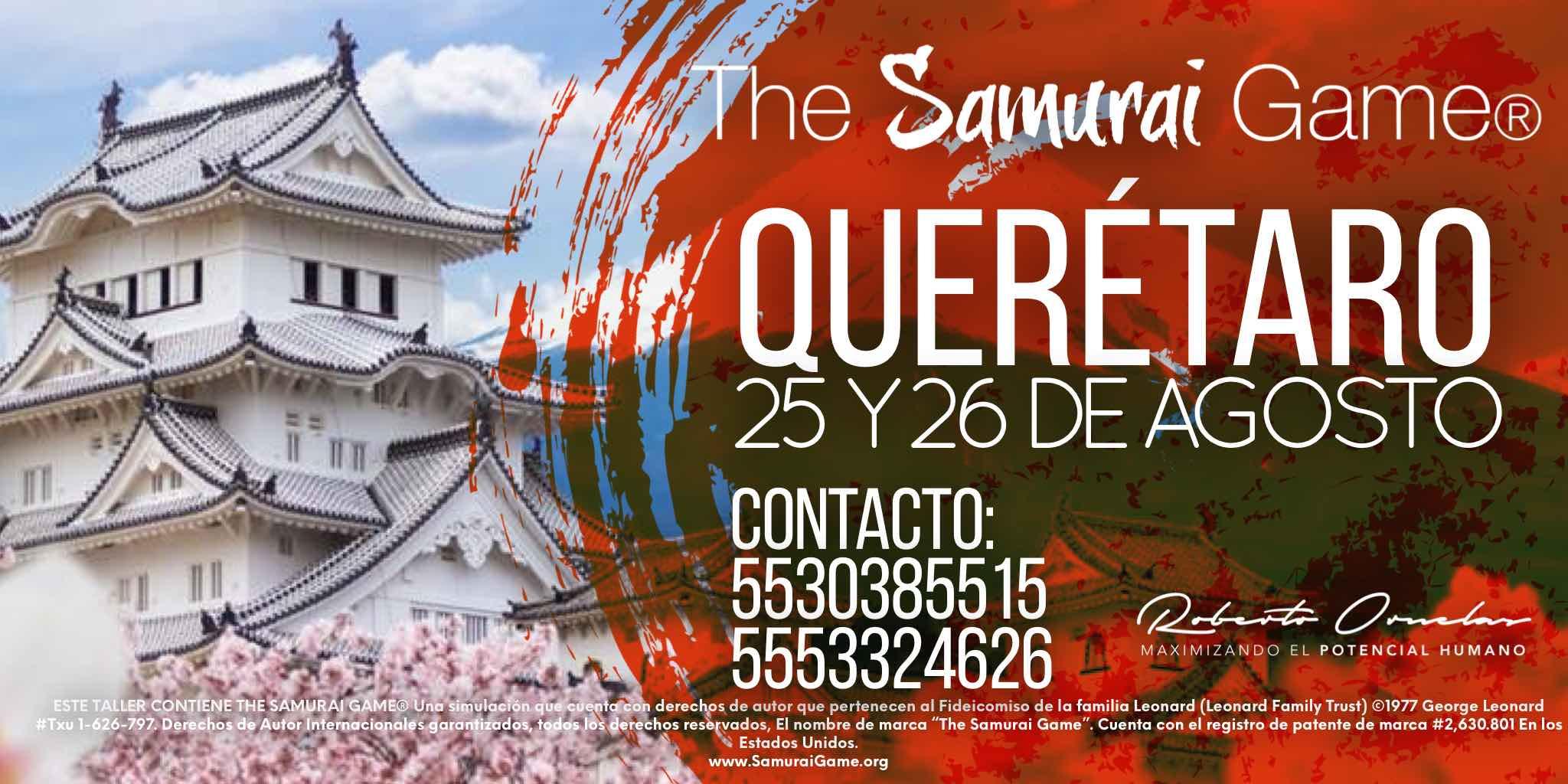 Samurai Game® Querétaro
