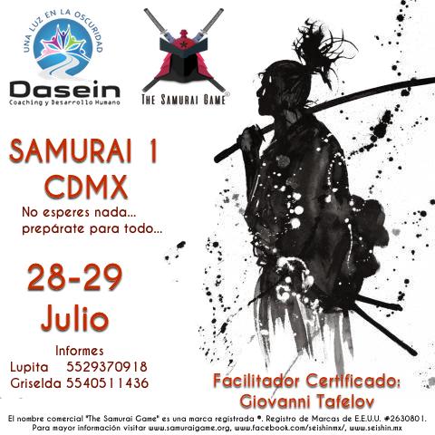 Samurai Game Dasein CDMX