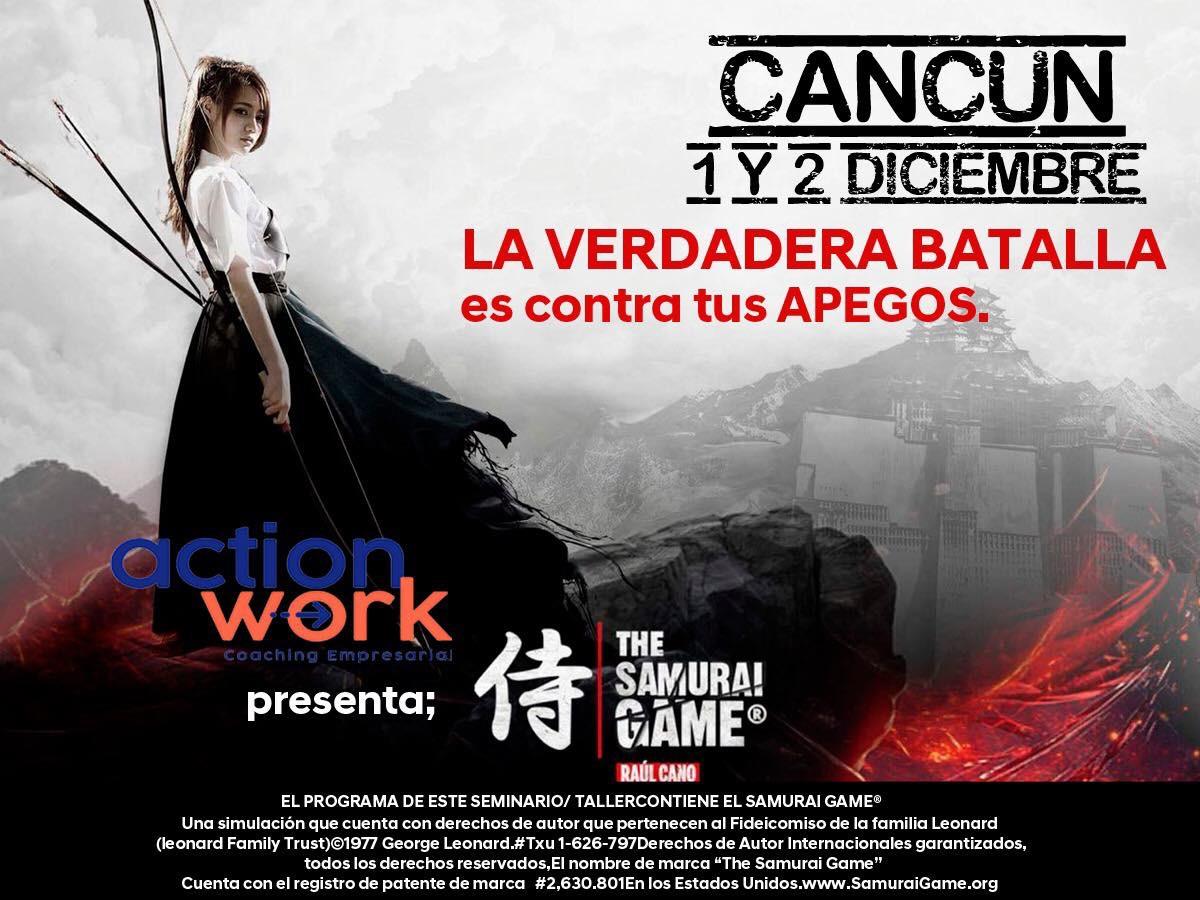 Samurai Game®️ Cancún