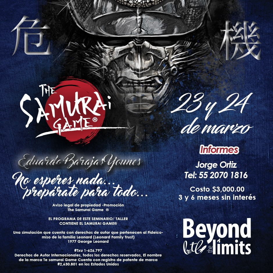 THE SAMURAI GAME @ BEYOND THE LIMITS