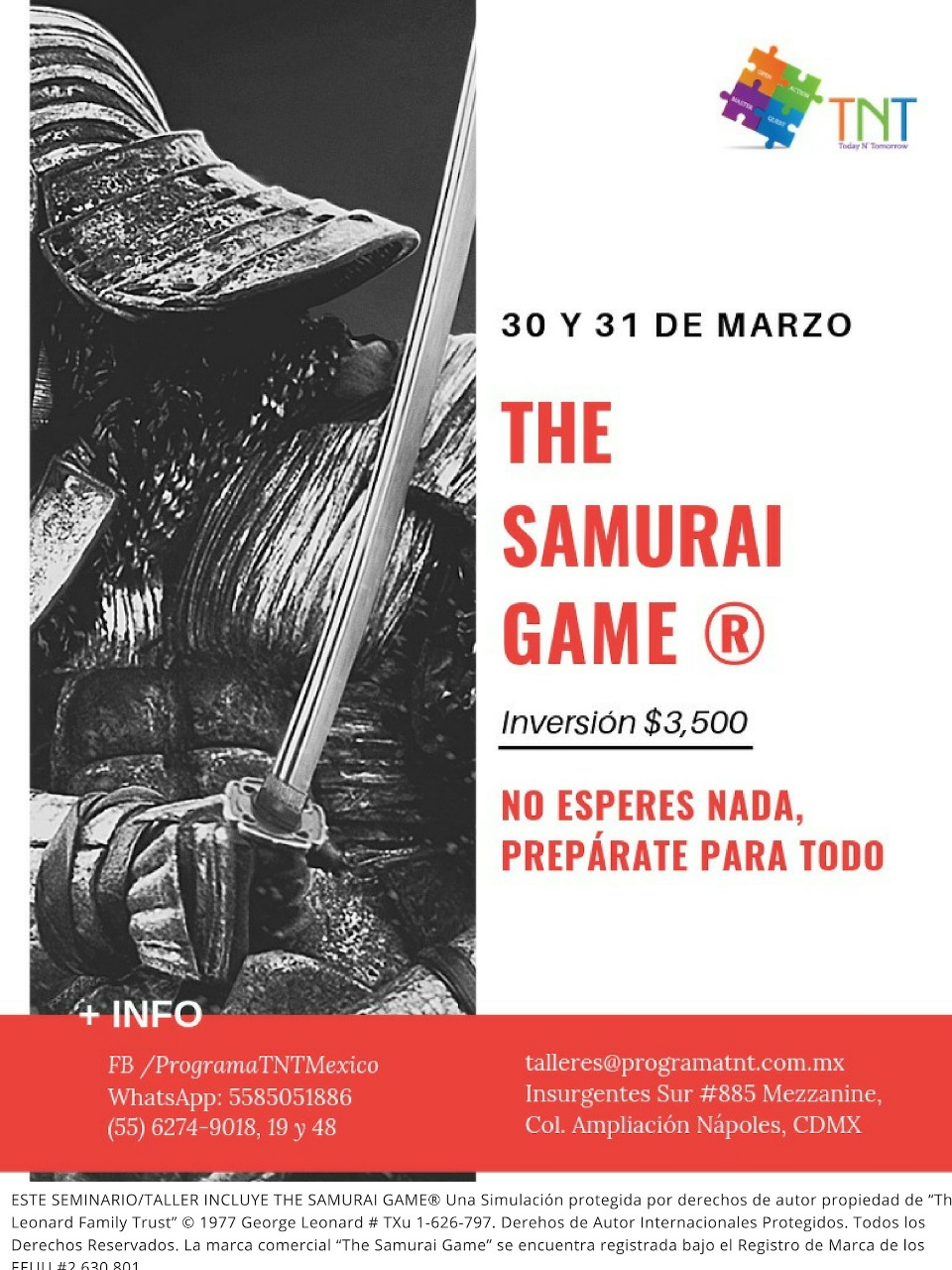 SAMURAI GAME @ PROGRAMA TNT