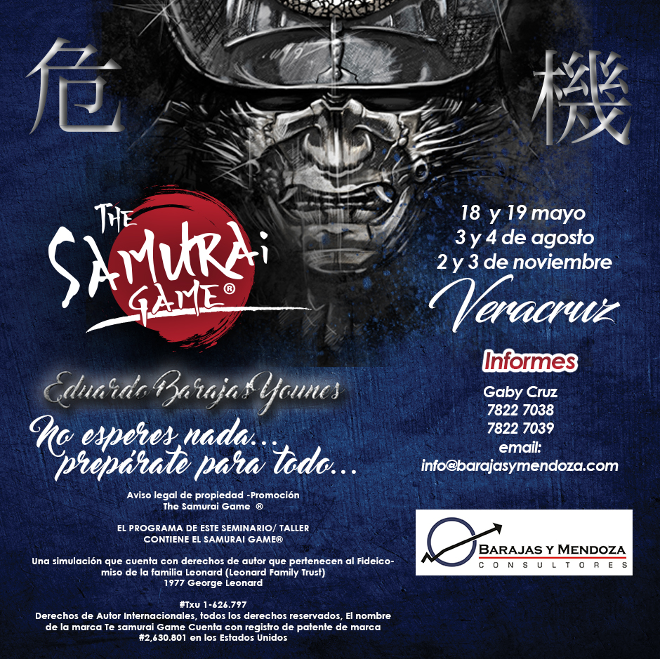THE SAMURAI GAME, VERACRUZ 2019