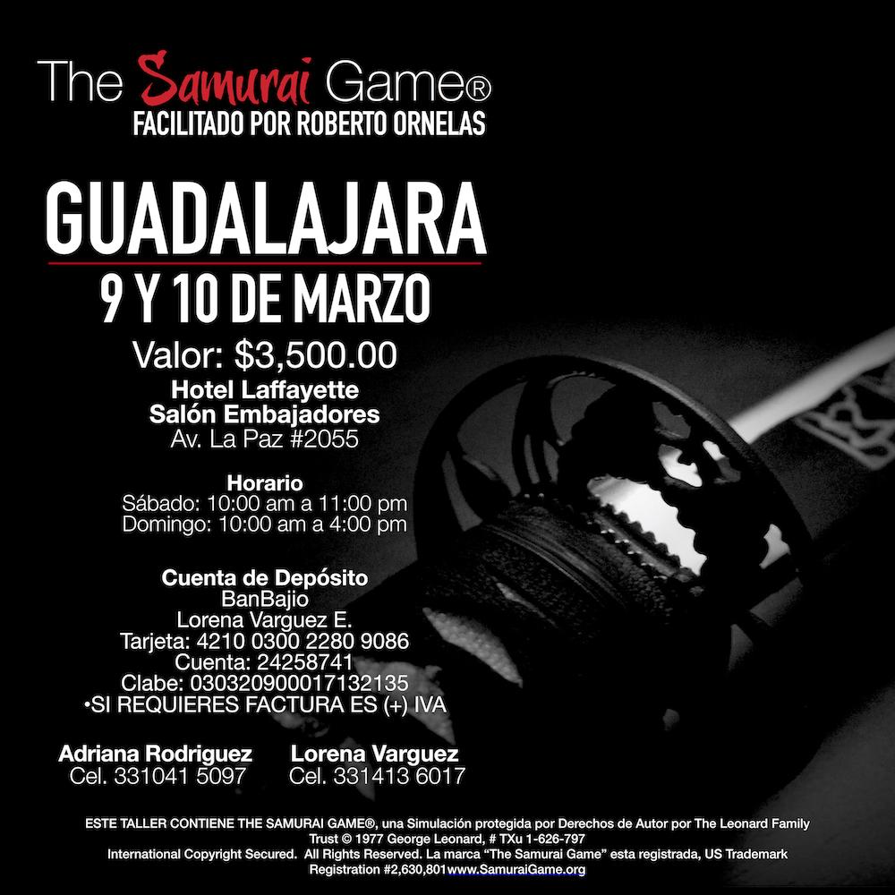 The Samurai Game® Guadalajara