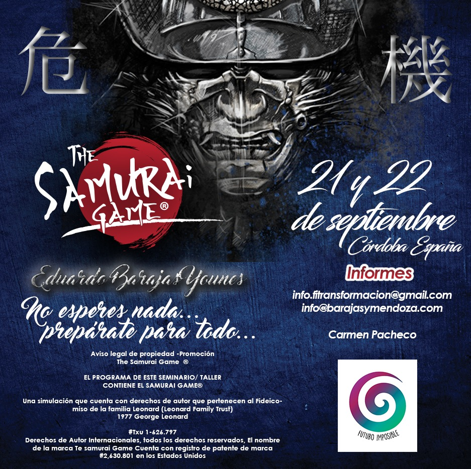 THE SAMURAI GAME, CORDOBA, ESPAÑA @FUTURO IMPOSIBLE