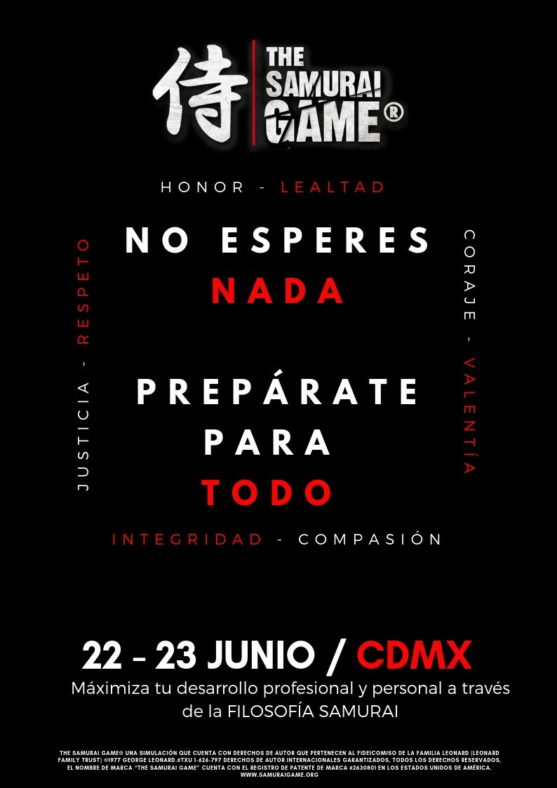 The Samurai Game® - CDMX