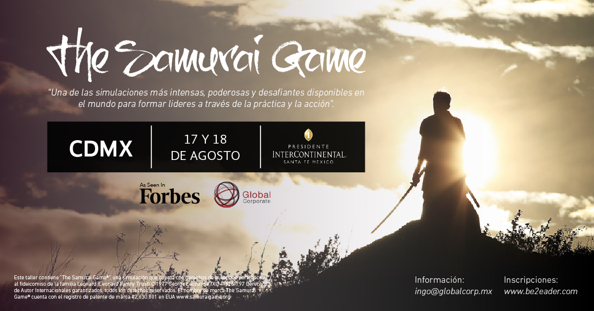 Samurai Game CDMX