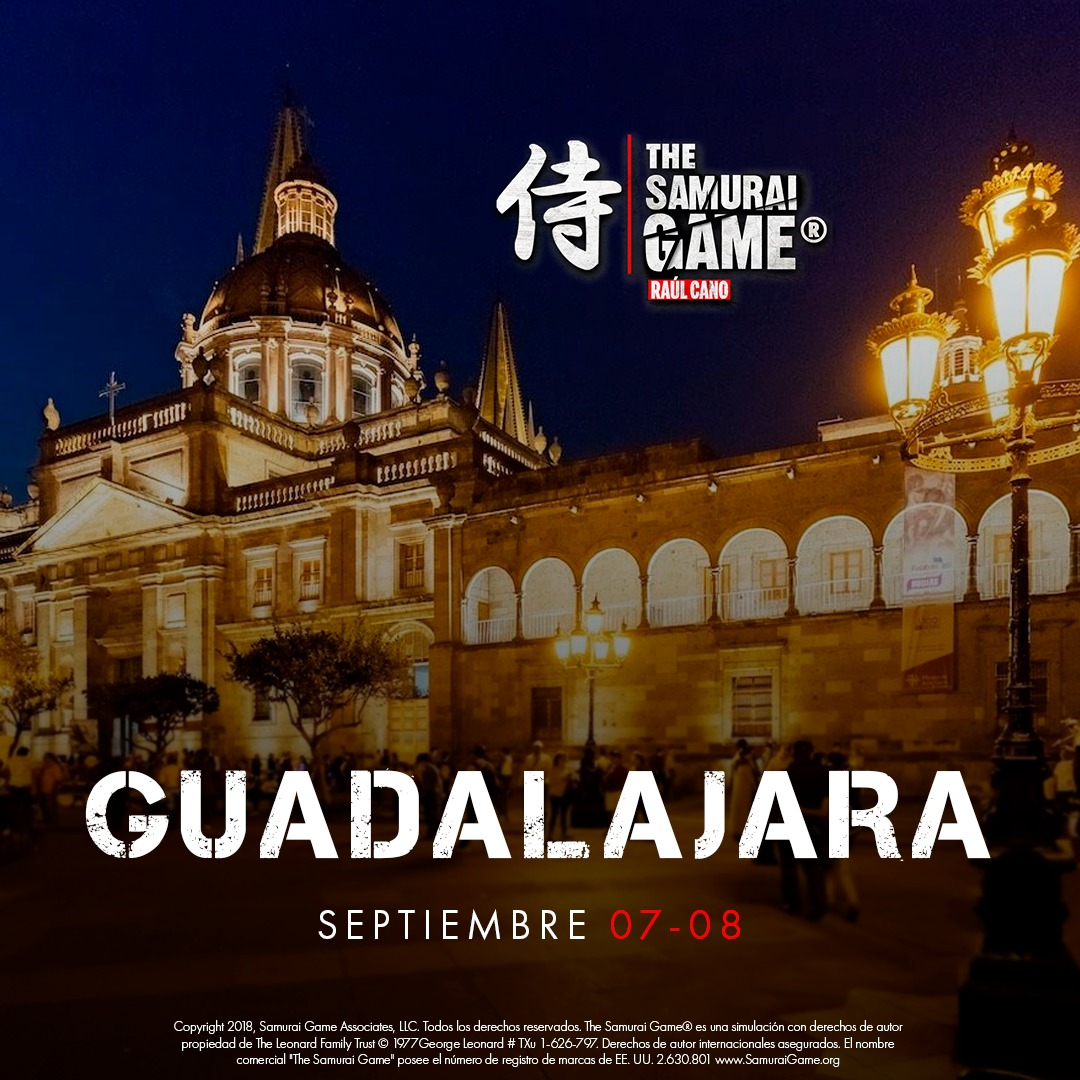 The Samurai Game®️ Guadalajara Raúl Cano