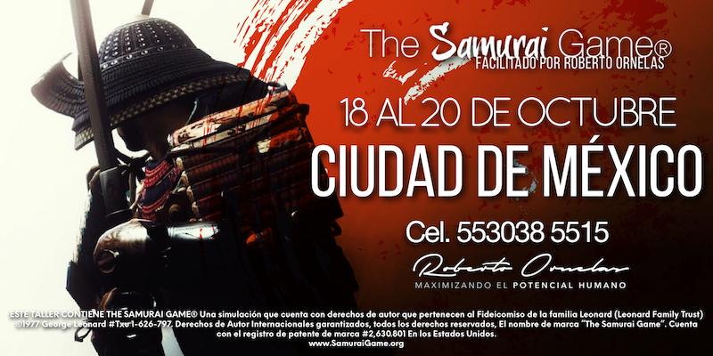 Samurai Game CDMX