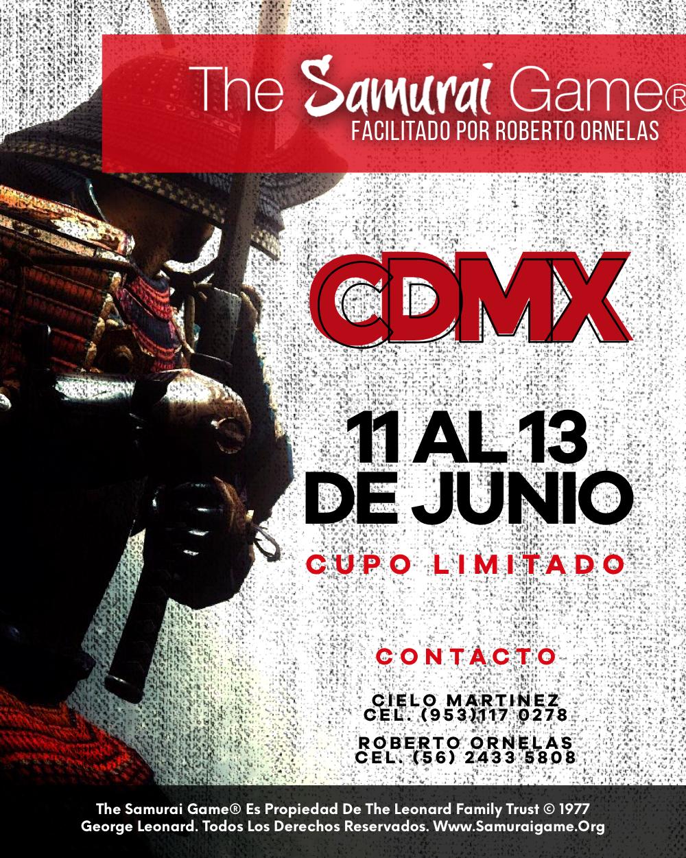 Samurai Game - CDMX